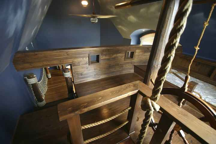 kat παιδικό έπιπλο δωμάτιο πειρατικό πλοίο 15