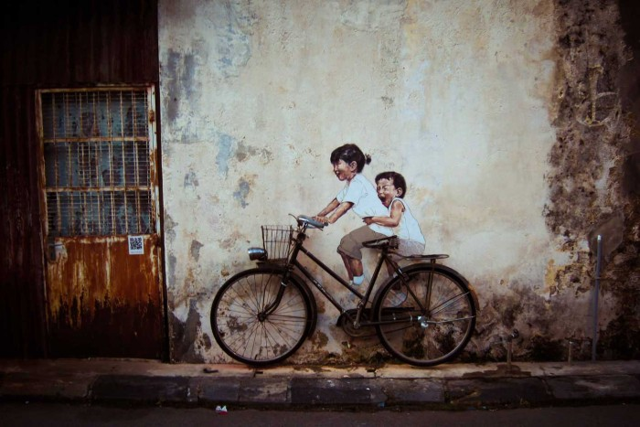 George Town, 2012, Ernest Zacharevic