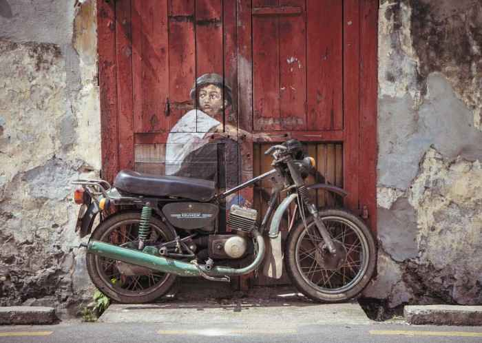 George Town, 2012 Ernest Zacharevic